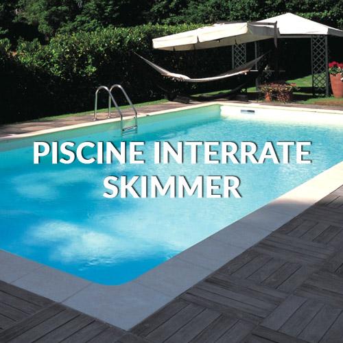piscine interrate a skimmer pisa livorno