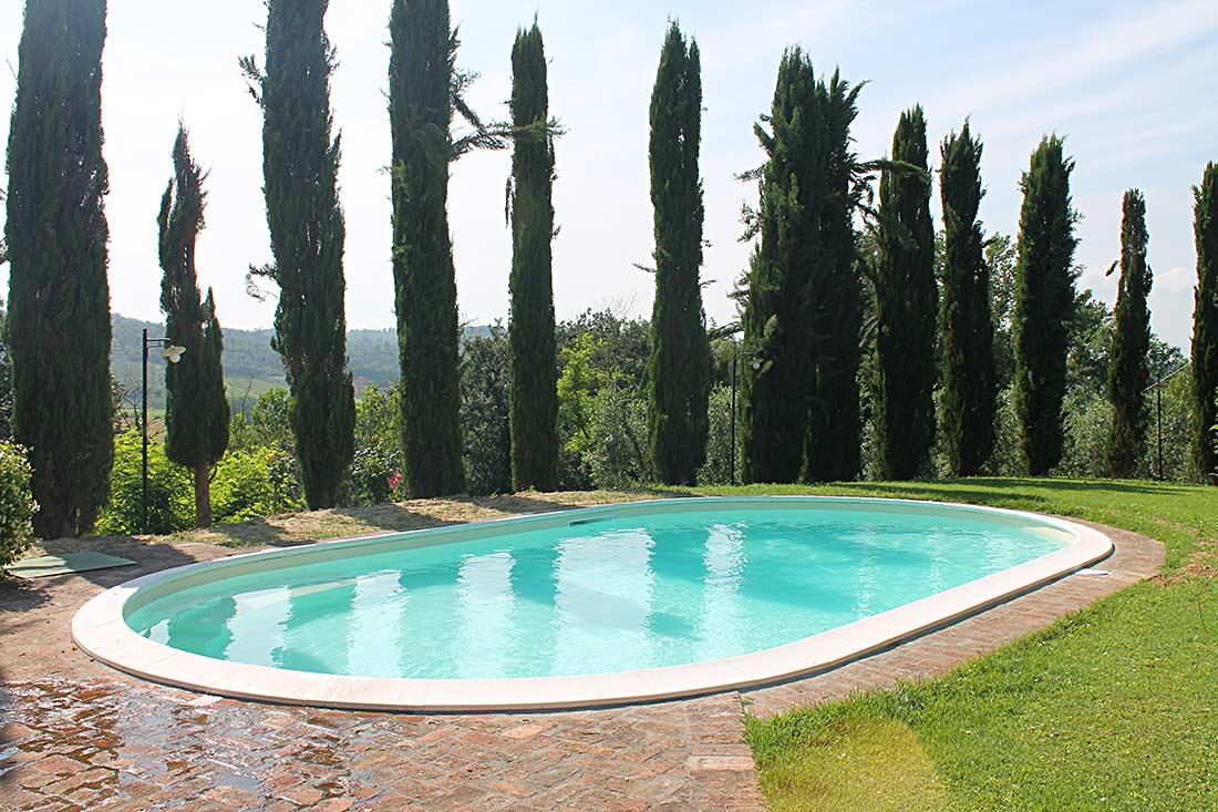 ristrutturazione piscina fuori terra scala idromassaggio skimmers